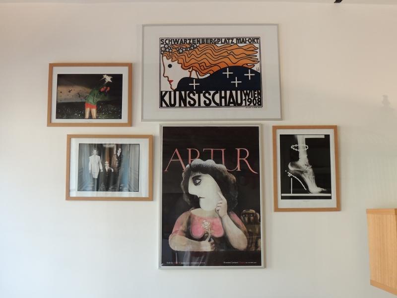 composition_murale_cadres_art nouveau_Vogue 90 ans