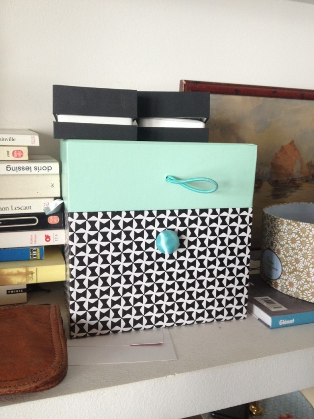 petite boite de rangement chez vivianne. Black Bedroom Furniture Sets. Home Design Ideas