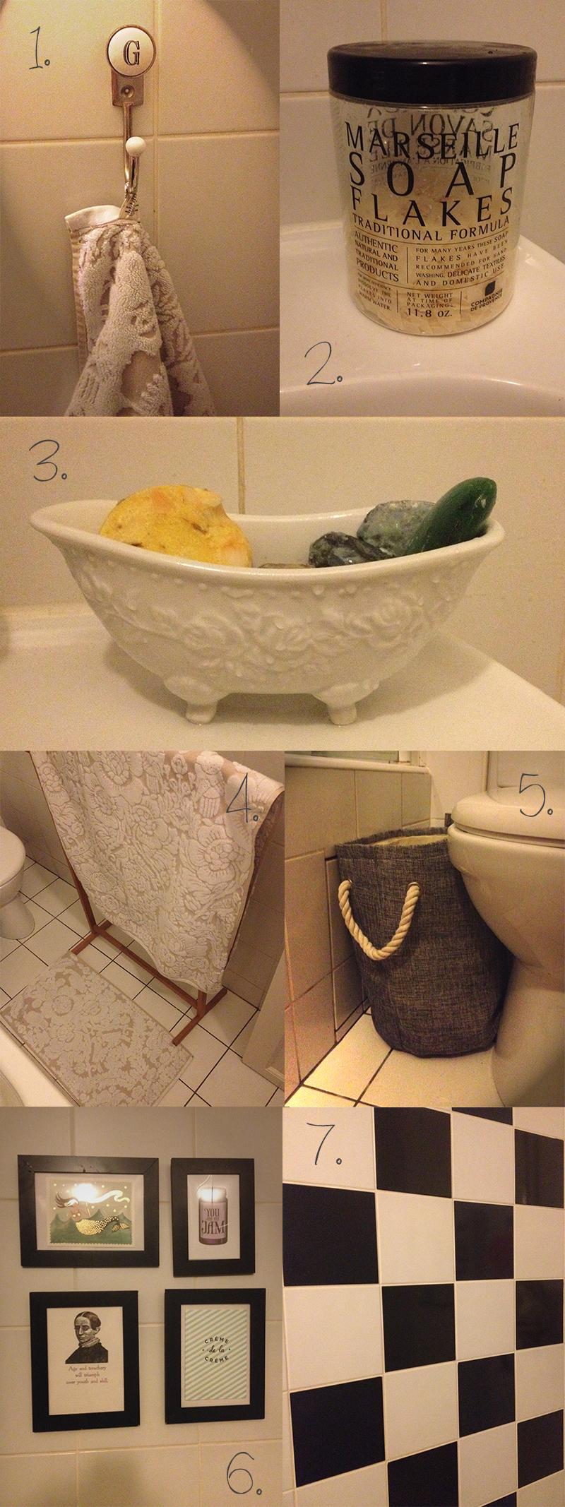 7 astuces pour d corer sa salle de bain chez vivianne - Decorer sa salle de bain ...
