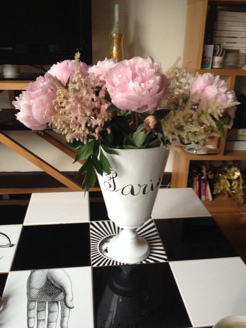 bouquet_pivoine rose podre ouverte_beau bouquet