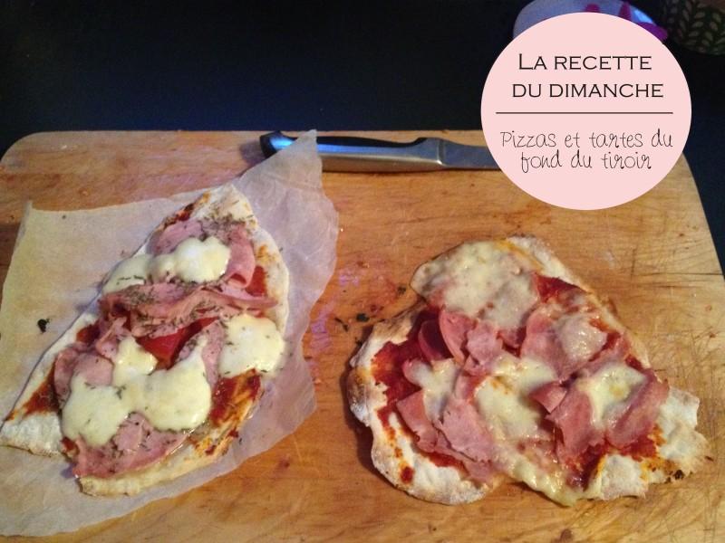 recette pizza_tarte tomate moutarde pate fine fines herbes_fait maison_recette simple_pas à pas