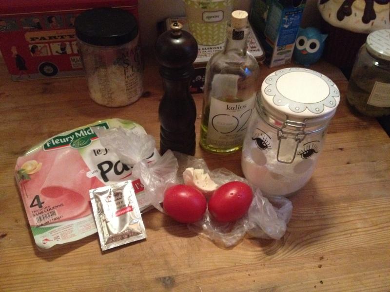 recette pizza_tarte tomate moutarde pate fine fines herbes_fait maison_recette simple_pas à pas_ingrédients nécessaire_recette avec le fond du frigo